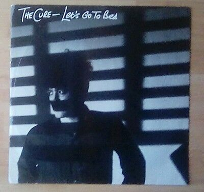 """The CURE -12"""" Single - Let's Go To Bed/Just One Kiss, EX+"""