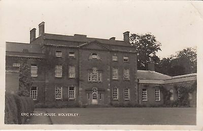 Wolverley House, Country House, Nr Kidderminster, Worcestershire. Rp, C1920.