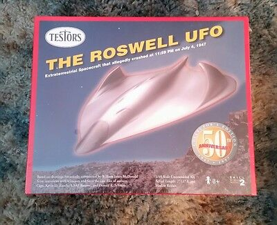 Testors The Roswell UFO model