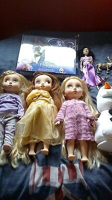 Disney Animator dolls and others frozen lot