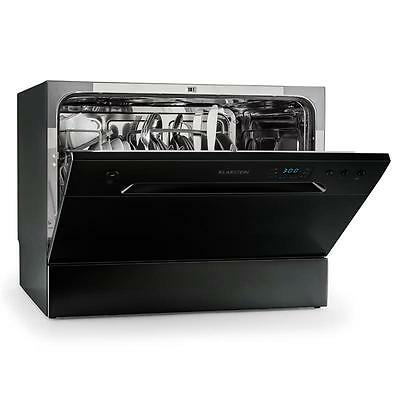 Klarstein 6 Place Free Stand / Built In Mini Dishwasher Appliance A+ Energy Eco