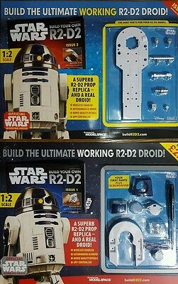 issue # 1,to 22 Build your own R2-D2 Star Wars DeAgostini weekly