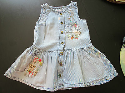 Baby Girl's Next Faded Dress Age 6-9 Months