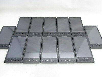 Lot Of 12 Fair Verizon Motorola Droid X Mb810 Android Touch Black Gsm Fast Ship