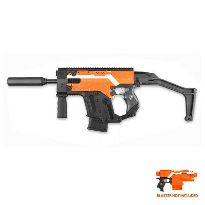 Worker Mod F10555 Kriss Vector Kit Combo 10 Item for Nerf Stryfe Toy Color Black