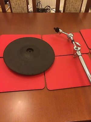 Roland Cy12c/r Electronic Crash Ride Cymbal For Td Drums Cy14 Cy15