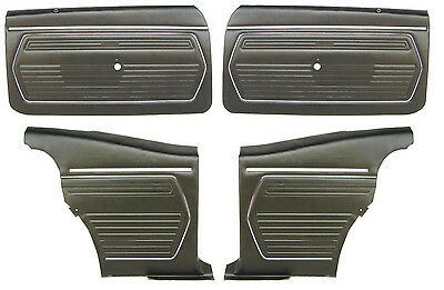 69 Camaro Preassembled  Door Panel Kit Front & Rears