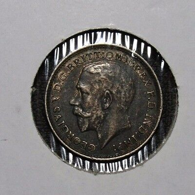 1917 Great Britain 3 Pence Silver