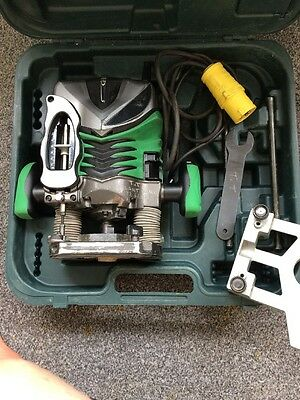 "Hitachi M 12V2 1/2"" Router 110V"