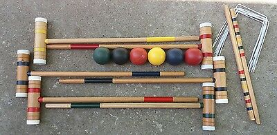 222 croquet classic sport 6 player complete with bag