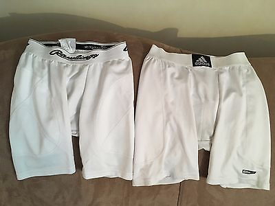 2 Pair of Baseball Sliders Size Youth Large