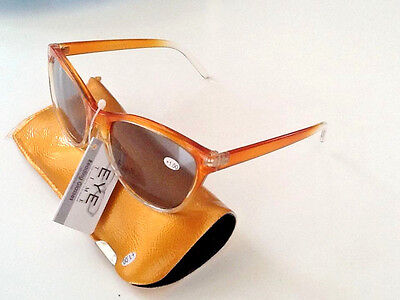 SUN READING GLASSES  with Free matching soft case(FULL READING LENS)