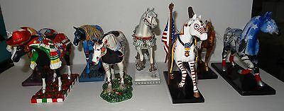 Westland The Trail of Painted Ponies, Collection of Eight, free shipping
