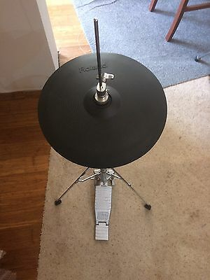 Roland Vh-11 Hi Hat With Stand Electronic Cymbal For Td Drums