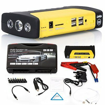 68800mAh Car Emergency Jump Starters Booster UK Charger Battery USB Power Bank