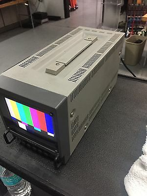 """Sony Pvm 5041Q 5"""" Color Monitor"""