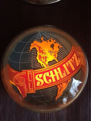 Schlitz Beer 1973 VINTAGE COLLECTIBLE  Time/TIDE CLOCK NO RESERVE