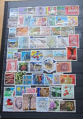 Switzerland 60 Different stamps, used #3