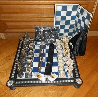 Chess Harry Potter DeAgostini  set and board