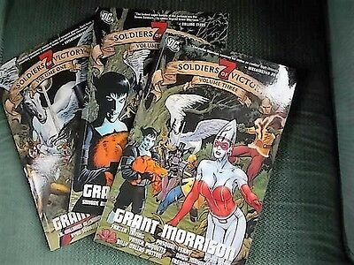 Seven Soldiers Of Victory: Issues 1,2,3  P/B collectors 1st prints 2006 DC Comic