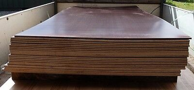 5 Pieces of NEW 9mm Phenolic Anti-Slip Weatherproof Birch Ply 92in x 40½in