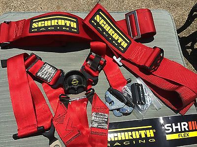 6 point Schroth Racing Harnesses--Excellent Condition