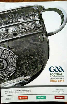 Kerry V Donegal 21/9/2014 All Ireland Gaa Football Final