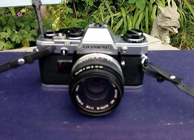 Olympus OM10 35mm SLR Film Camera with 50mm lens..olympus