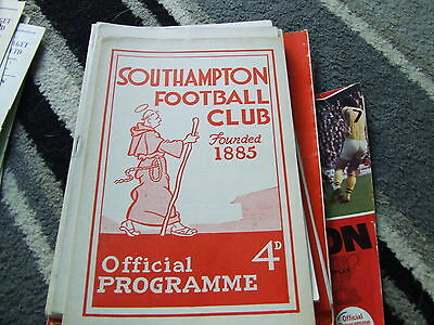 Southampton V Blackpool 1958-9 Fa Cup 3Rd Round