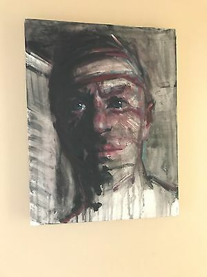 Original new Modern Oil Painting Portrait Wall Art on Canvas by artist #3