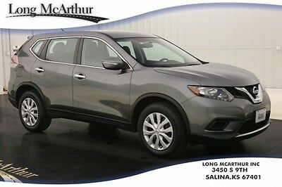 2014 Nissan Rogue LOW MILES! AUTOMATIC 4 DOOR S AWD SUV REAR VIEW CAMERA POWER WINDOWS LOCKS ELECTRONIC CLIMATE CONTROL