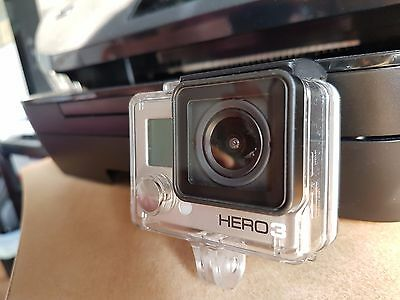 GoPro Hero 3, Silver, 1080p 30fps, barely used, video, camera, camcorder