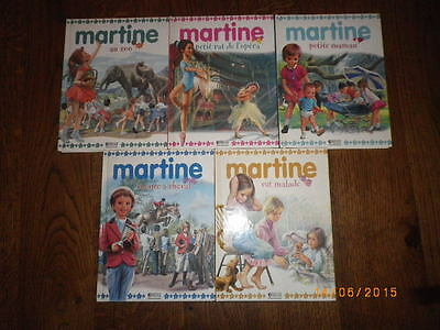 Lot 5 Livres Martine Editions Atlas