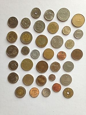 Small Collection Of Foreign Coins