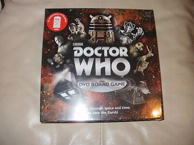 Doctor Who DVD Board Game **NEW & SEALED**