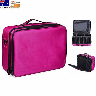 Cosmetic Makeup Bag Beauty Case Professional Large Storage Handle Organizer New