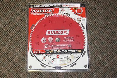 "NEW Freud D1296L 12"" x 96 Tooth Diablo Laminate/Melamine Saw Blade FREE SHIPPING"