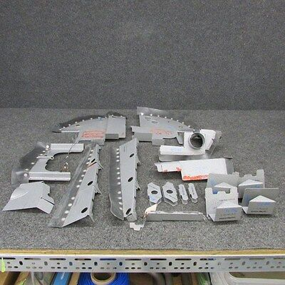 Cessna A185F Cont IO-520-D Engine Baffle Kit (Hammered Paint) SMOH: 101.70 (RM)