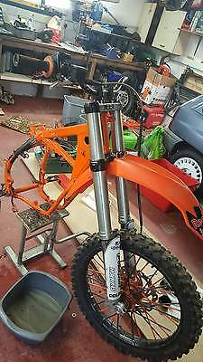 Ktm forks and yokes