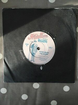 """Peter Green - The Clown / Time For Me To Go - 7"""" Vinyl"""