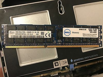 1x 16GB SK Hynix PC3L - 10600R RAM - Server Memory