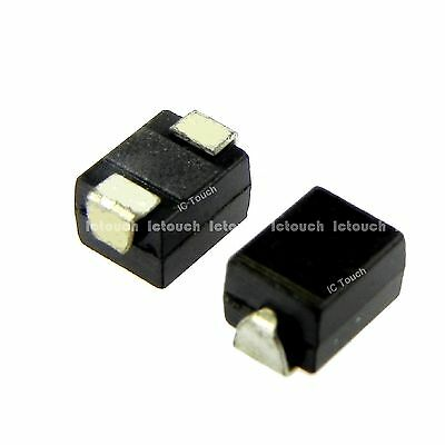 100pcs M1 DO-214AC 1N4001 SMD Rectifier Diode TOSHIBA Diodes