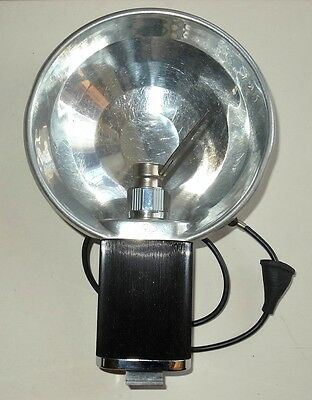 Agfa Vintage Bulb Flash Gun With Small Bulb Size Adapter