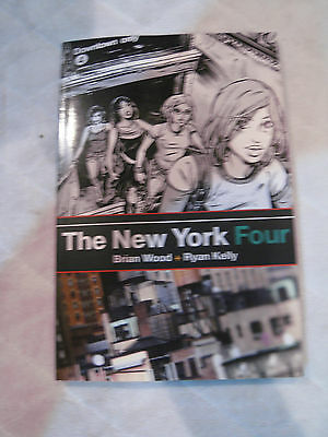 The New York Four Graphic Novel Brian Wood Vf