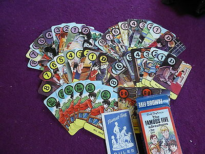 Vintage 'The Famous Five Adventures' Pepys Card Game