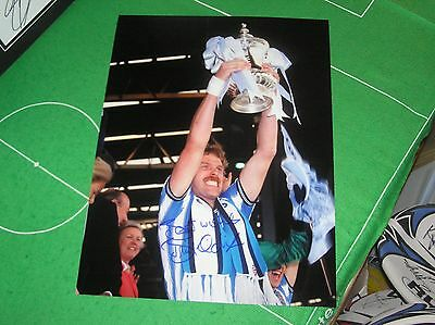 Brian Kilcline Signed Coventry City Large 1987 FA Cup Final  Winners Photograph