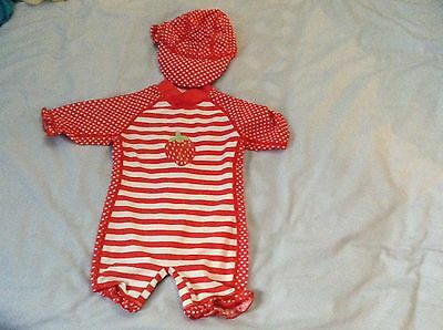 Baby Girls Swimsuit Age 3-6 Months