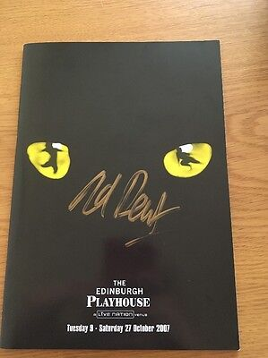 Cats The Musical Signed Theatre Programme 2007 Edinburgh
