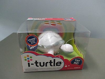Hasbro I-Turtle Speaker Music Players iPod Plastic Battery Colorful NEW IN BOX!