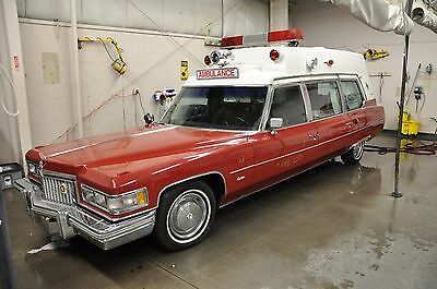 "1975 Cadillac Superior Ambulance  1975 Superior Cadillac 54"" Ambulance"